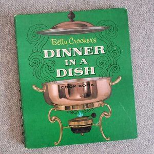 Vtg MCM Cookbook Betty Crocker's DINNER IN A DISH
